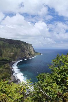 Waipio Valley, Hawaii. Best place to camp on the Big Island! (Tip: You'll need an AWD vehicle to drive down safely)