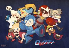 Rockman by *RioRock on deviantART