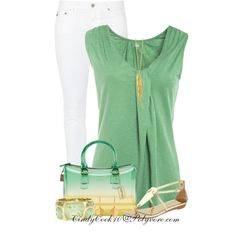 Ombre Bag, created by cindycook10 on Polyvore