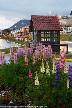Las calles de #Ushuaia, Tierra del Fuego #Argentina.