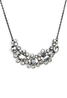 Crystal Jewel Choker Necklace