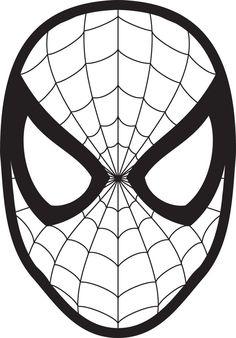 Spiderman Mask Printable Spider Man Cake Mask Template Spiderman Mask Printable For Elf On The Shelf Superhero Cake, Superhero Birthday Party, Man Birthday, Superhero Cookies, Birthday Cake, Spiderman Pumpkin Stencil, Spiderman Face, Spiderman Cookies, Spiderman Shirt