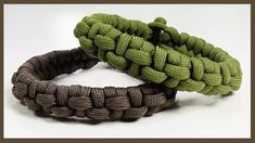 "Paracord Bracelet Tutorial: ""Spined Fishtail"" Bracelet Design Without Bu..."
