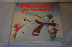 Vintage Record The Terrytowne Players: Frosty the Snowman Album TIL-510