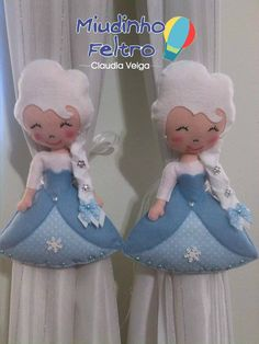 Prendedores de Cortina Elza Frozen  (Sadly, just a picture)pjr