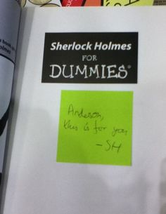 If you don't get this, watch Sherlock.