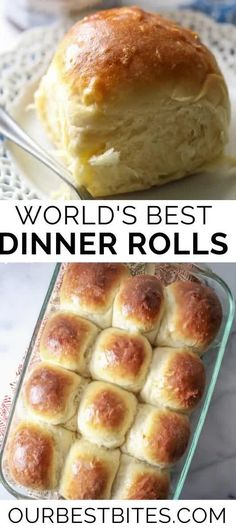 Dinner Rolls that everyone will love. This is the last roll recipe that you will ever need. | Our Best Bites | #Dinner Rolls #Rolls #OurBestBites #ThanksgivingRolls #ChristmasDinner Dinner Rolls Recipe, Roll Recipe, Bread Recipes, Cake Recipes, Party Recipes, Rolls Rolls, Bread Head, Gluten Free Menu, Yummy Food