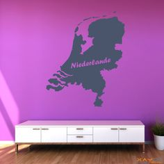 "Wandtattoo ""Niederlande"" - ab 9,95 €   Xaydo Folientechnik"