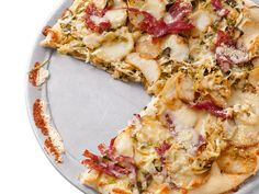 Might make Corned-Beef-and-Cabbage Pizza for a St. Patrick's Day party this year. A little crazy but looks so yummy!