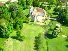 Château de Pesselières --  Région Centre-Val de Loire   Département Cher   Commune Jalognes