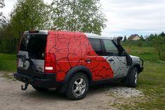 Galeria wykonanych przez naszą firmę grafik reklamowych na pojazdach - samochodach i innych pojazdach.Technika wykonania: druk wielkoformatowy