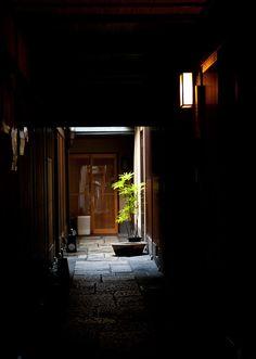 Back alley of Kyoto, Japan