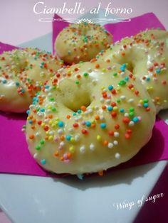 ciambelle al forno - wings of sugar