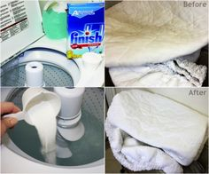 Miracle Laundry Whitener  1 cup of laundry detergent  a cup of powdered dishwasher detergent  a cup of bleach  1/2 a cup of Borax