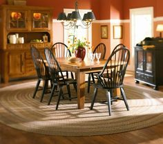 My Broyhill attic heirloom dining set pedestool table | My dining ...