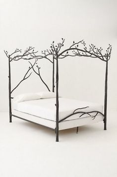 Anthro's Forest Canopy Bed. I want this so bad. Ugh.