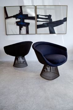 "urbnite: ""Warren Platner Collection """