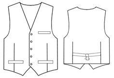 Waistcoat  - Sewing Pattern #6063