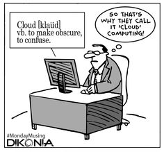 There must be something so very amazing about #CloudComputing that business all around the world is getting transformed. Enterprises are experiencing increased efficiency with significant cost-saving. Statistically speaking, 80% of small businesses in US are expected to be using Cloud by 2017. Are you still clouded with doubts? Let the expert IT consultancy team of #Dikonia help you! #MondayTechnologyMotivation #Dikonia_IT_Expertise