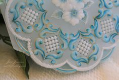 A Touch of Grace » Turquoise Parchment Card For A Friend