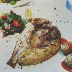 Pagre de Fuerteventura, restaurant Rompeolas à Corralejo, Canaries