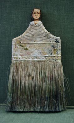 Artist Rebecca Szeto - what a reat wayto make something beautiful out of recyclable bits