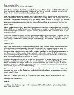 Letter to ryan from parents explaining santa cafemom mobile my guys elf already came last year but im gonna change this up a bit for his return to be with us this holiday season letter from santa explaning santa spiritdancerdesigns Choice Image