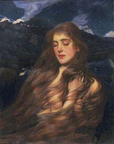 "Wilfred Gabriel de Glehn (British, 1870–1951), ""Night"""