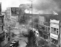 Fire at the Rialto Theater 1956 Elgin Illinois, Rialto Theater, Black Hawk, Once In A Lifetime, Antiquities, History Facts, Fallout, Tabletop, Growing Up