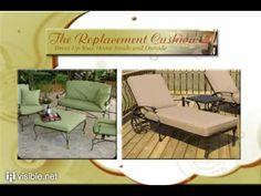 Patio Chair Cushions, Tufted Cushions, Seat Pads, Tilt Umbrellas