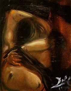 Study for 'Woman Undressing' - Dali Salvador