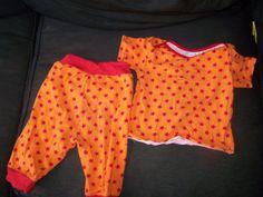 Shirt Zwergenpackung Farbenmix, broek Summer Sea Ottobre 3/13