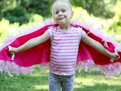 Kids' Halloween Costume: How to Make Bird Wings : Simply slip your child's arms into the elastic, and they're ready to fly.   From DIYnetwork.com