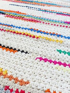 XXL Crochet rug