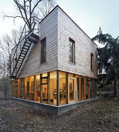 Wooden House by Sporadical Architects » CONTEMPORIST