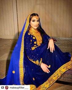 One of a kind beauty ♥️♥️ with ・・・ Look out for upcoming afghan dresses Insha Allah! Afghan Clothes, Afghan Dresses, Wedding Stage Decorations, World Cultures, Afghanistan, Dressing, Sari, Formal Dresses, Indian Weddings
