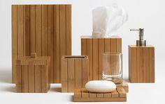 TOP CHOICE!! SAYS ANNA G!Bamboo Bathroom Accessories Martha Stuart