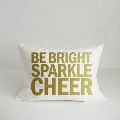 Sparkle Pillow Cover  Holiday Lumbar Cover  by skoopehomedesigns, $25.00