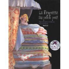 La princesse au petit pois  Hans Christian Andersen (Auteur), Maja Dusikova (Illustrations), Anne Frere (Traduction)