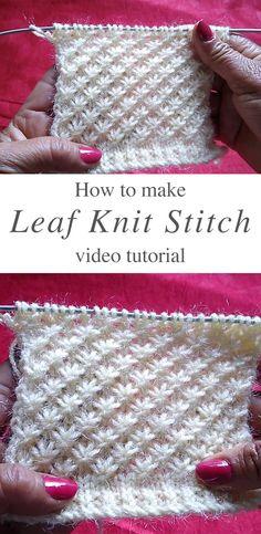 Yarn Projects, Knitting Projects, Crochet Projects, Knitting Tutorials, Knitting Ideas, Knitting Stiches, Crochet Stitches, Crochet Loop, Knitting Patterns