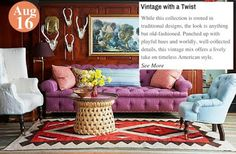 Love the Look Vintage with a Twist:: www.teelieturner.com #decor