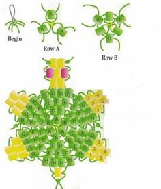 Turtle Seed Bead Pattern
