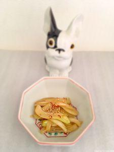Kimpira au fenouil Fennel