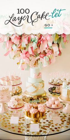 Breakfast at Tiffany's bridal shower | Bachelorette + Shower | 100 Layer Cake