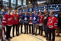 Jason Spezza Photos  - NHL Stars Ring Opening Bell at the NYSE - Zimbio