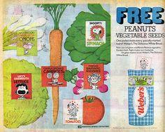 Peanuts Seeds ad