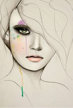 Fashion Illustrations by Leigh Viner | Cuded