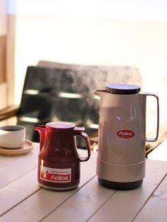 Kitchen Tool : コーヒーの時間を楽しくする、キッチンツール/「ヘリオス」の「卓上魔法瓶」 #kitchentools