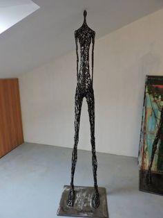 """Saatchi Art Artist Michele Rizzi; Sculpture, """"""""Deep contemplation"""" (Star woman, h.213)"""" #art"""