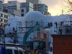 必見!雪まつりのプロジェクションマッピング   札幌ぶらぶらダイアリー #SnowFestival  #雪まつり